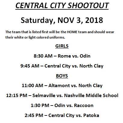 CC Shootout 2018
